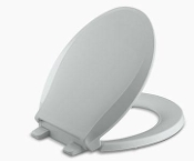 Cachet RB Toilet Seat Ice Grey by KOHLER