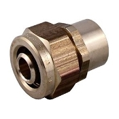 "IPX-088955 3/4"" Kitec to 3/4"" Copper Sweat transition Coupling"