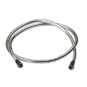 Aquabrass 6' Double Interlock Braided Hose Polished Chrome